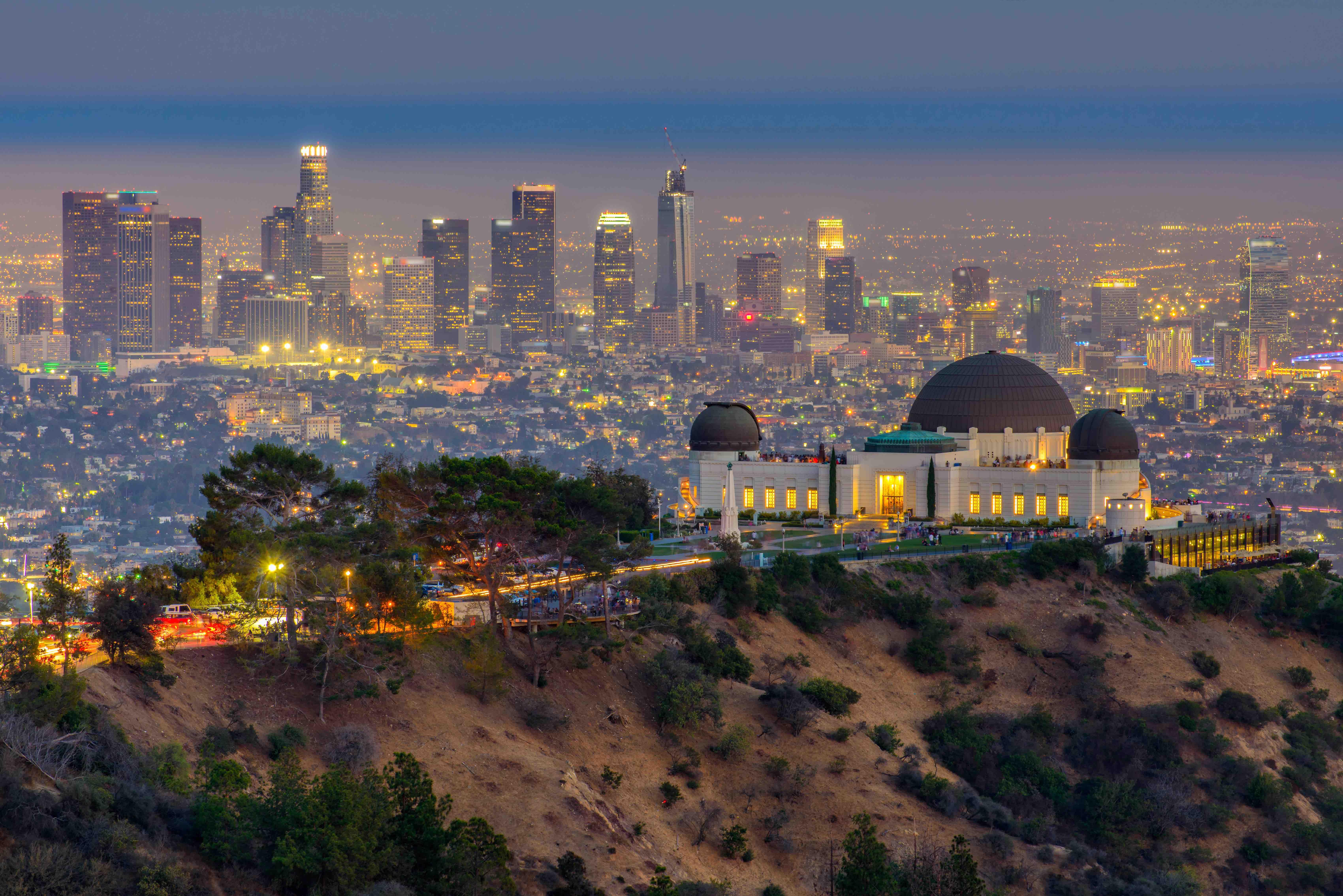 Depart Los Angeles